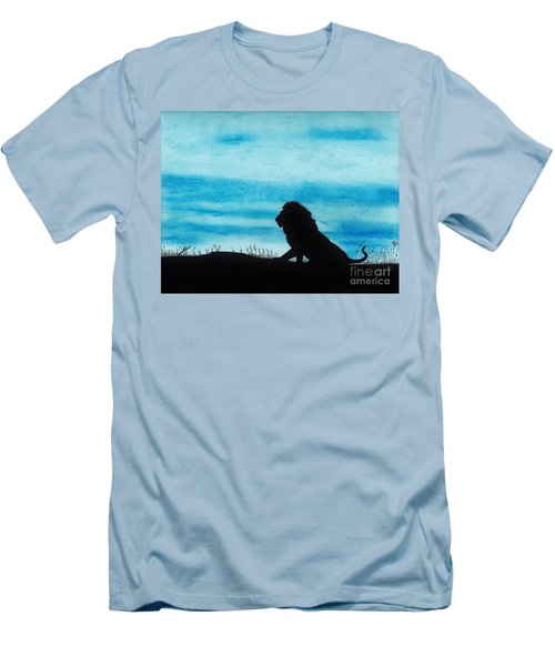 Leo At Sunset Men's T-Shirt (Athletic Fit)