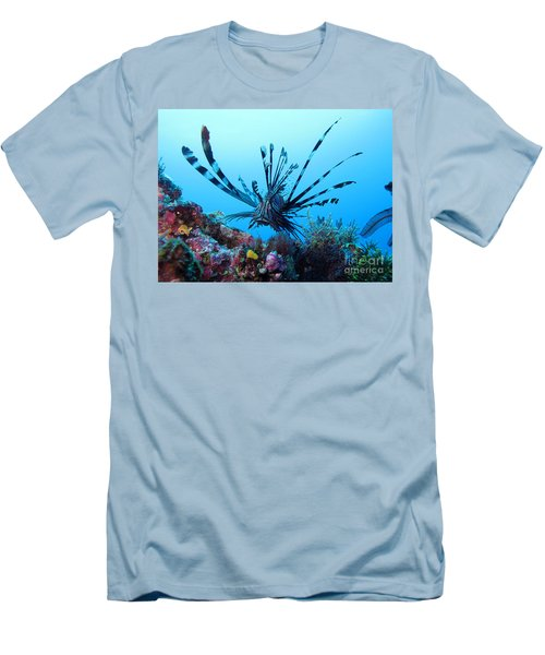 Men's T-Shirt (Slim Fit) featuring the photograph Leon Fish by Sergey Lukashin