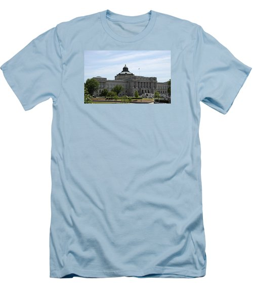 Library Of Congress  Men's T-Shirt (Slim Fit) by Christiane Schulze Art And Photography