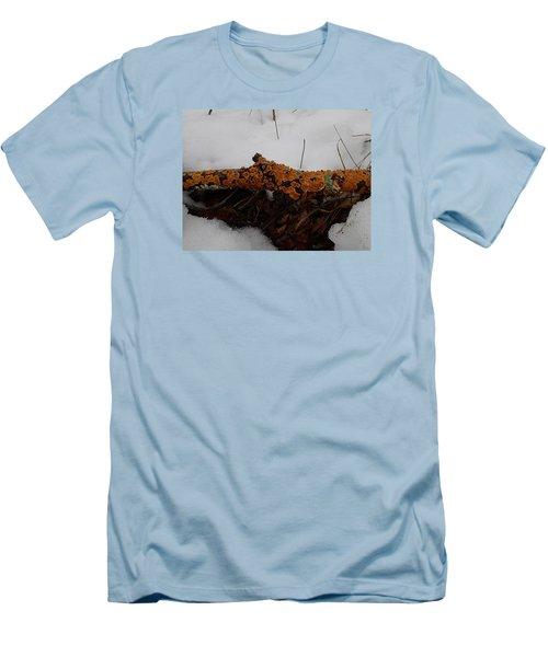 Lichen N'snow Men's T-Shirt (Slim Fit) by Robert Nickologianis