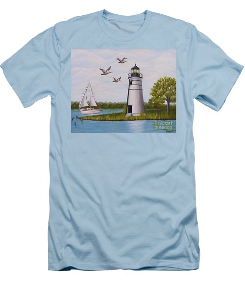 Light  In Madisonville Men's T-Shirt (Athletic Fit)