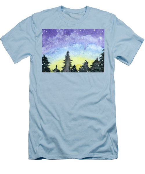 Lights Of Life Men's T-Shirt (Athletic Fit)
