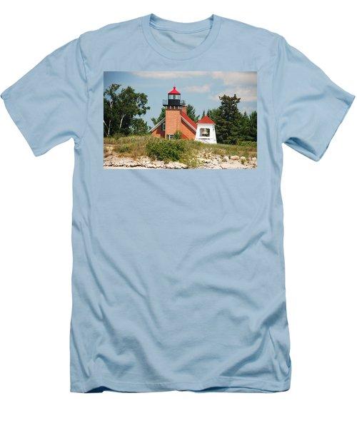 Little Traverse Lighthouse No.2 Men's T-Shirt (Slim Fit)