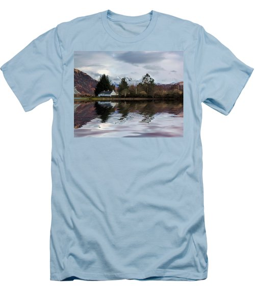 Loch Etive Reflections Men's T-Shirt (Athletic Fit)