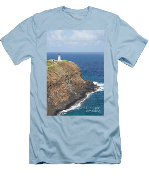 Men's T-Shirt (Slim Fit) featuring the photograph Lone Sentry by Suzanne Luft