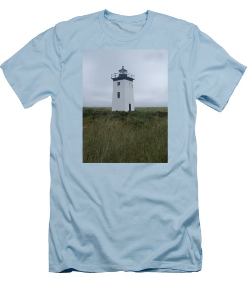 Longpoint Lighthouse Men's T-Shirt (Athletic Fit)