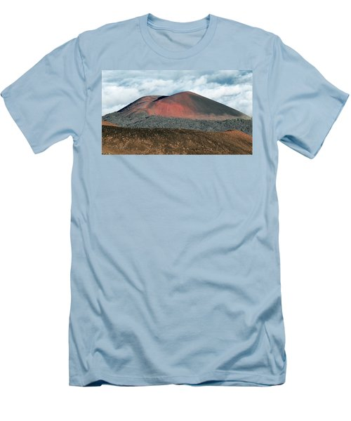 Men's T-Shirt (Slim Fit) featuring the photograph Looking Down by Jim Thompson