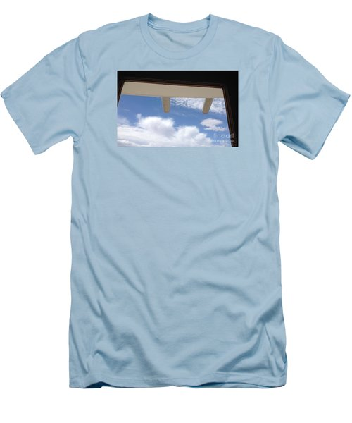 Men's T-Shirt (Slim Fit) featuring the photograph Lookout by Nora Boghossian