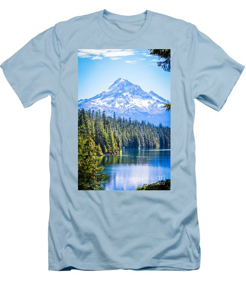 Lost Lake Morning Men's T-Shirt (Athletic Fit)