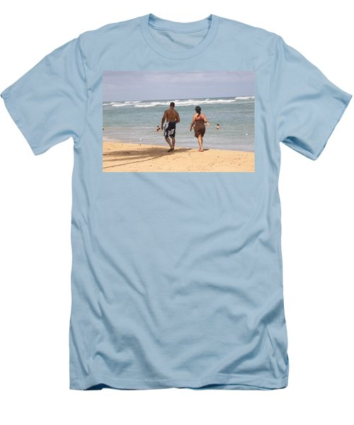 Love Stroll Men's T-Shirt (Athletic Fit)