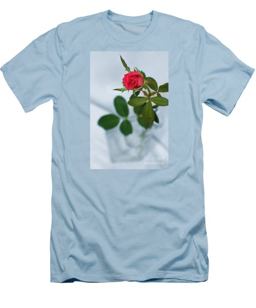 Love Whispers Softly Men's T-Shirt (Slim Fit) by Ella Kaye Dickey