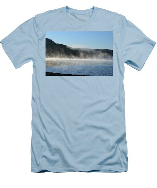 Men's T-Shirt (Slim Fit) featuring the photograph Maine Morning by James Petersen