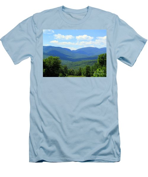 Majestic Mountains Men's T-Shirt (Athletic Fit)