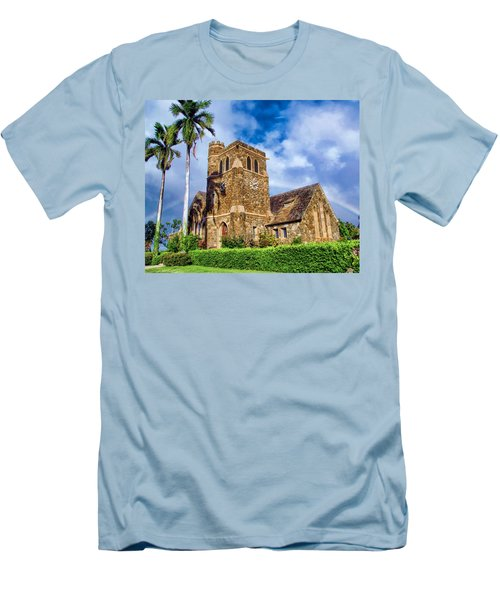 Makawao Union Church 1 Men's T-Shirt (Athletic Fit)