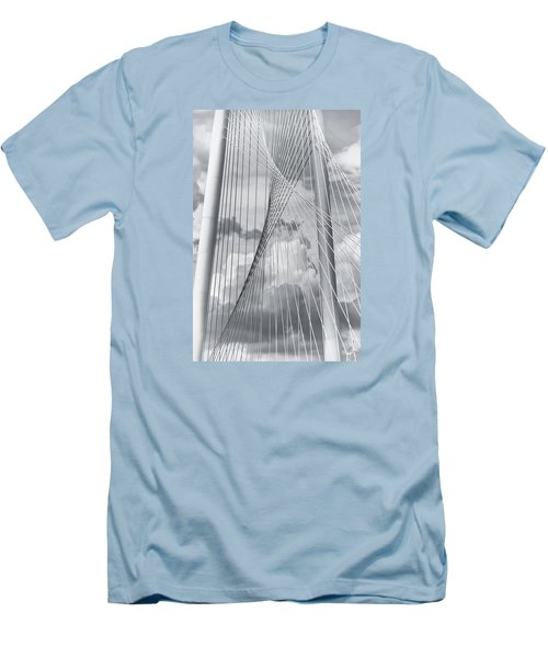 Margaret Hunt Hill Bridge Men's T-Shirt (Athletic Fit)