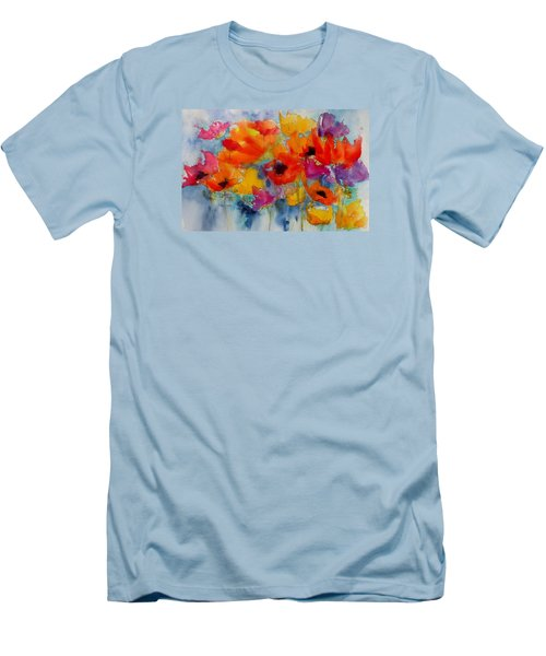 Marianne's Garden Men's T-Shirt (Slim Fit) by Anne Duke
