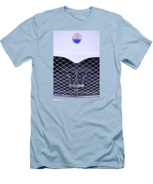 Maserati Emblems Men's T-Shirt (Slim Fit) by Pamela Walrath