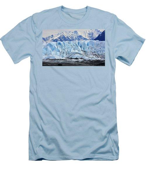Matanuska Glacier Men's T-Shirt (Athletic Fit)