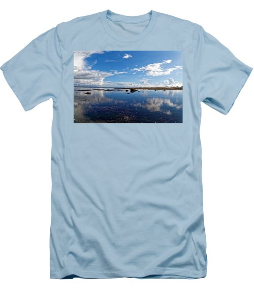 Mavericks Beach Men's T-Shirt (Athletic Fit)