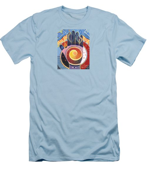 May You Always Find Your Way Men's T-Shirt (Slim Fit) by Helena Tiainen