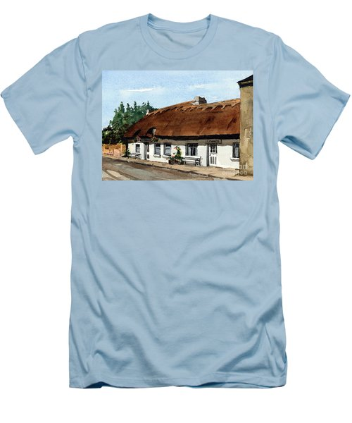 F 709 Mcdonaghs Pub  Oranmore Galway Men's T-Shirt (Athletic Fit)