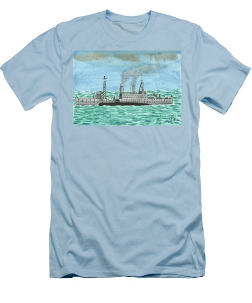 Meeting For Supplies  Men's T-Shirt (Slim Fit) by John Williams