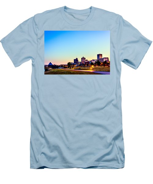 Memphis Morning - Bluff City - Tennessee Men's T-Shirt (Athletic Fit)
