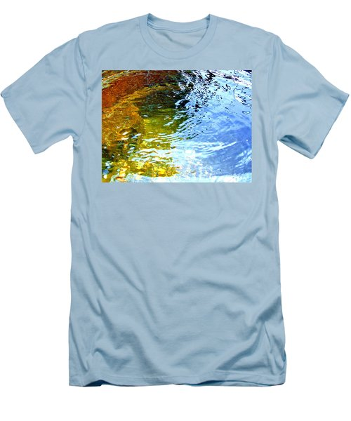 Mermaids Den Men's T-Shirt (Slim Fit) by Deborah Moen