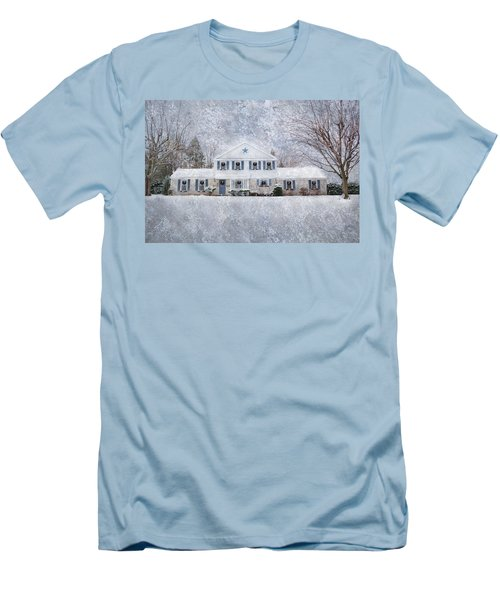 Wintry Holiday Men's T-Shirt (Athletic Fit)