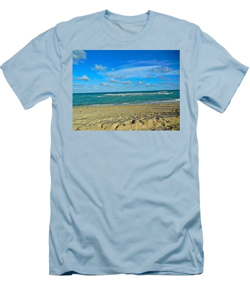 Miami Beach Men's T-Shirt (Athletic Fit)