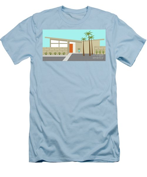 Mid Century Modern House 1 Men's T-Shirt (Athletic Fit)