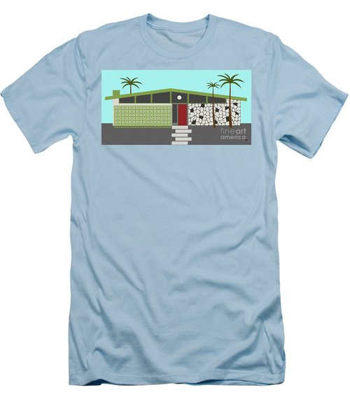 Mid Century Modern House 4 Men's T-Shirt (Athletic Fit)