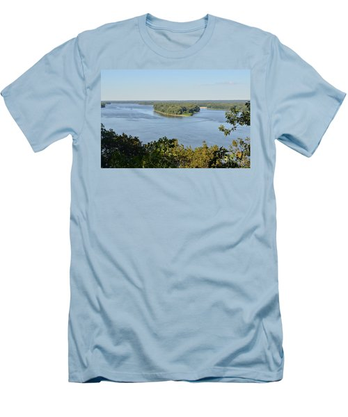 Mississippi River Overlook Men's T-Shirt (Athletic Fit)