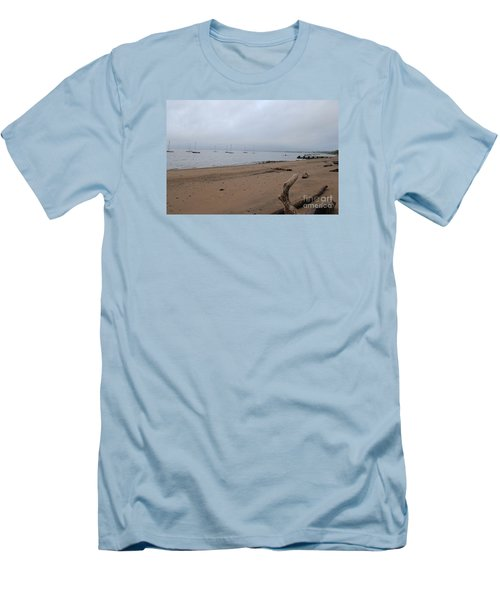 Misty Harbor Men's T-Shirt (Athletic Fit)