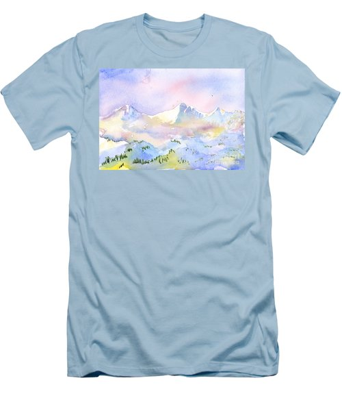 Misty Mountain Men's T-Shirt (Athletic Fit)