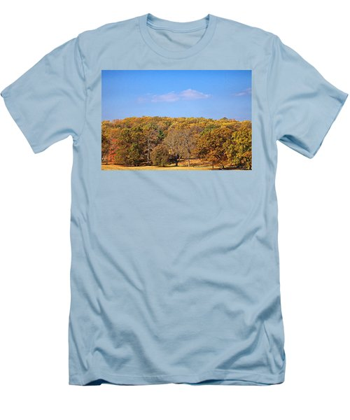 Mixed Fall Men's T-Shirt (Slim Fit) by Leeon Pezok