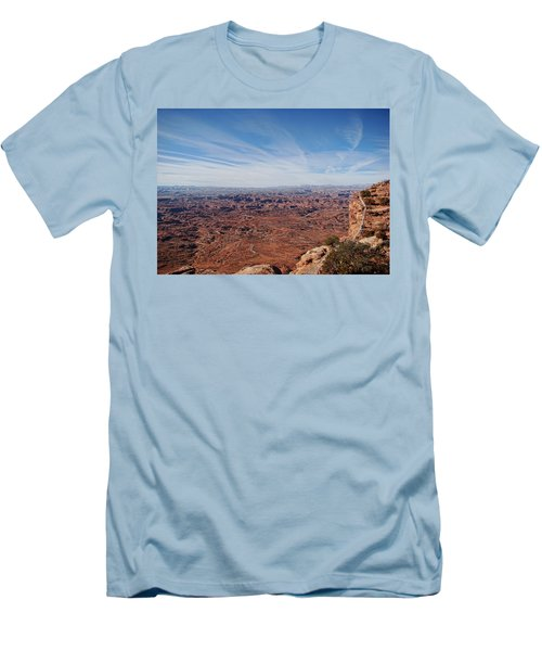 Moab  Men's T-Shirt (Slim Fit) by Cathy Anderson