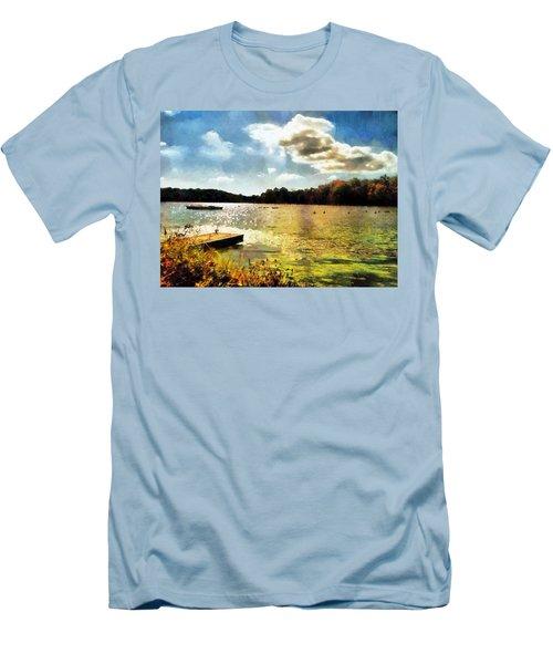 Mohegan Lake Gold Men's T-Shirt (Athletic Fit)