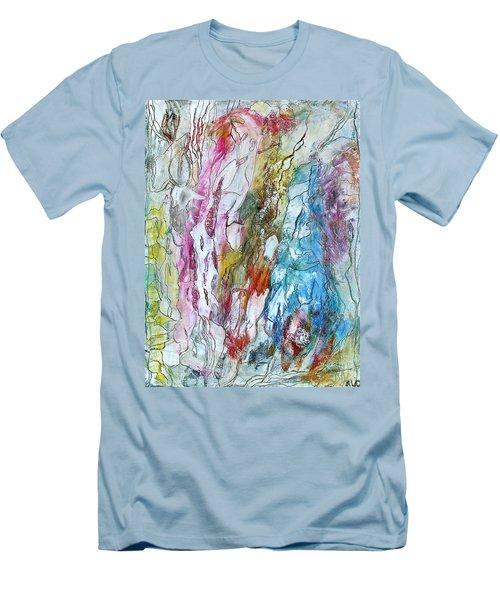 Monet's Garden Men's T-Shirt (Slim Fit) by Bellesouth Studio