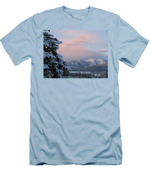 Montana Winter Men's T-Shirt (Slim Fit) by Joseph J Stevens