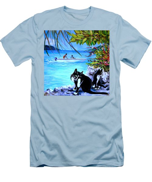 Montego Bay. Part One Men's T-Shirt (Athletic Fit)