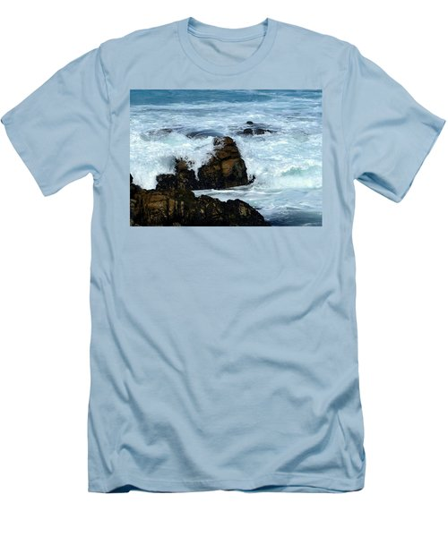 Men's T-Shirt (Slim Fit) featuring the photograph Monterey-2 by Dean Ferreira