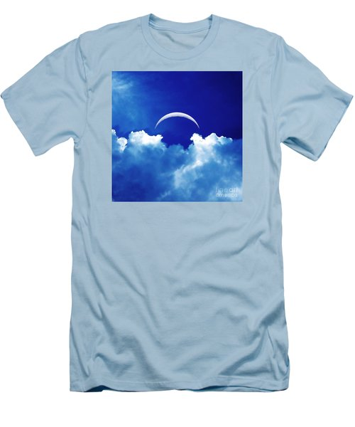 Moon Cloud Men's T-Shirt (Athletic Fit)
