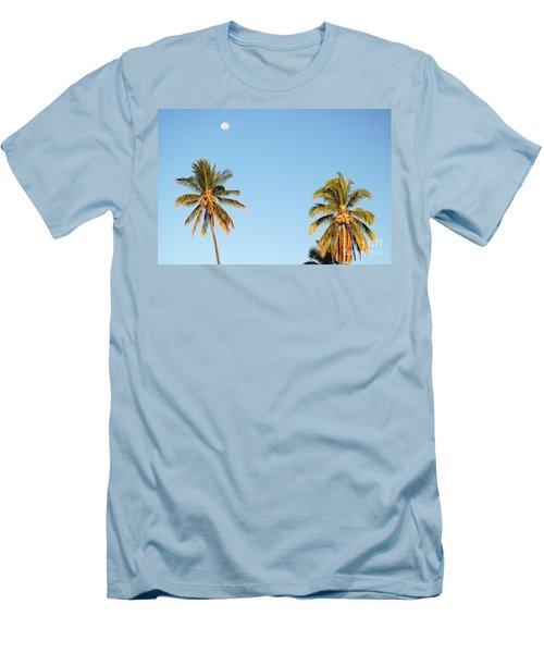 Moon Over Molokai Men's T-Shirt (Athletic Fit)