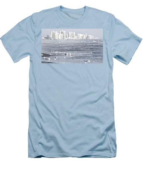 Men's T-Shirt (Slim Fit) featuring the photograph Morning Dreams In Daytona by Janie Johnson
