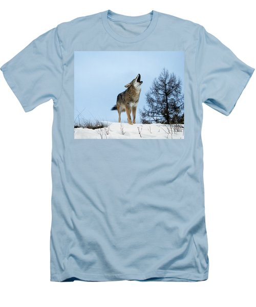 Men's T-Shirt (Slim Fit) featuring the photograph Morning Howl by Jack Bell