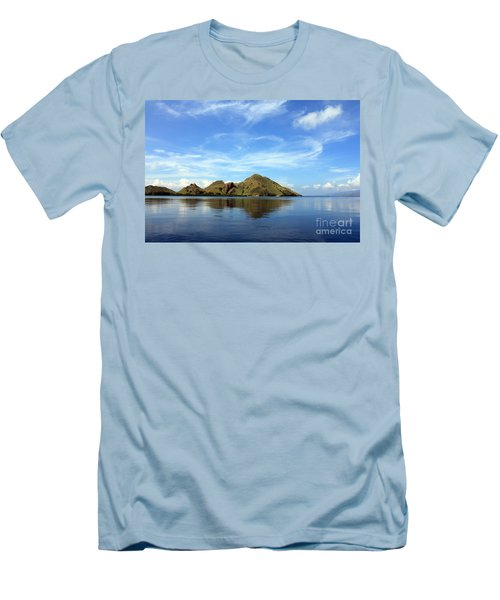 Men's T-Shirt (Slim Fit) featuring the photograph Morning On Komodo by Sergey Lukashin