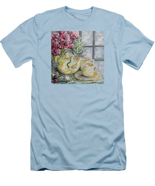 Morning Tea For Two Men's T-Shirt (Athletic Fit)
