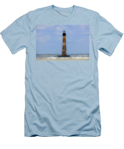 Men's T-Shirt (Slim Fit) featuring the photograph Sand Sea And Whimsey by Dale Powell