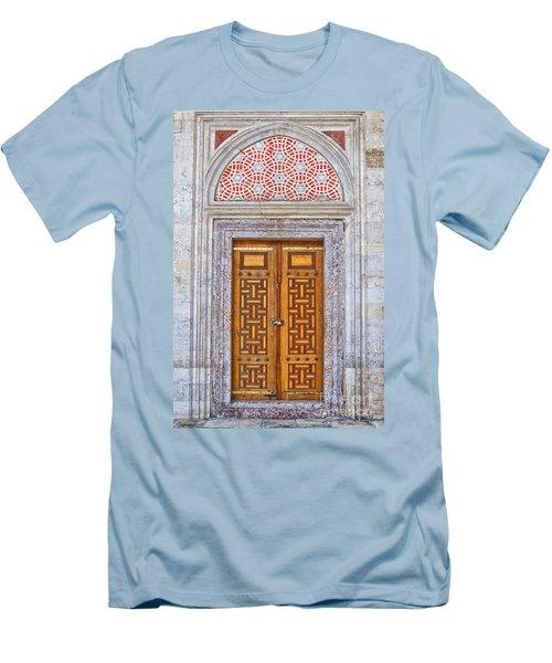 Mosque Doors 04 Men's T-Shirt (Slim Fit) by Antony McAulay